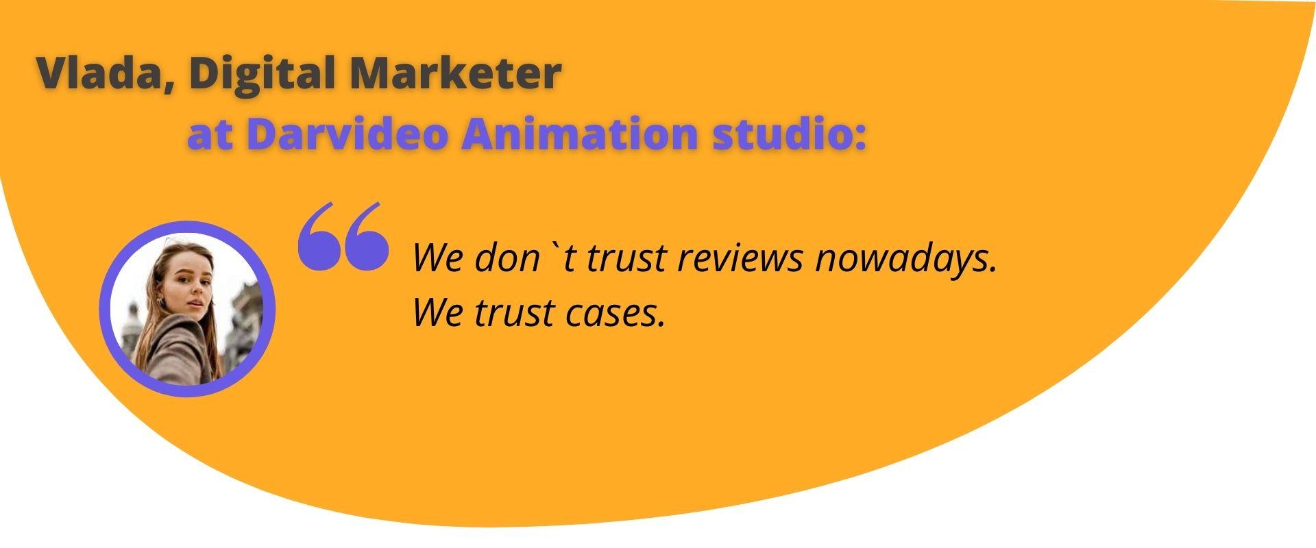 Vlada, Digital Marketer at Darvideo Animation studio - Choosing an Animated Video Company
